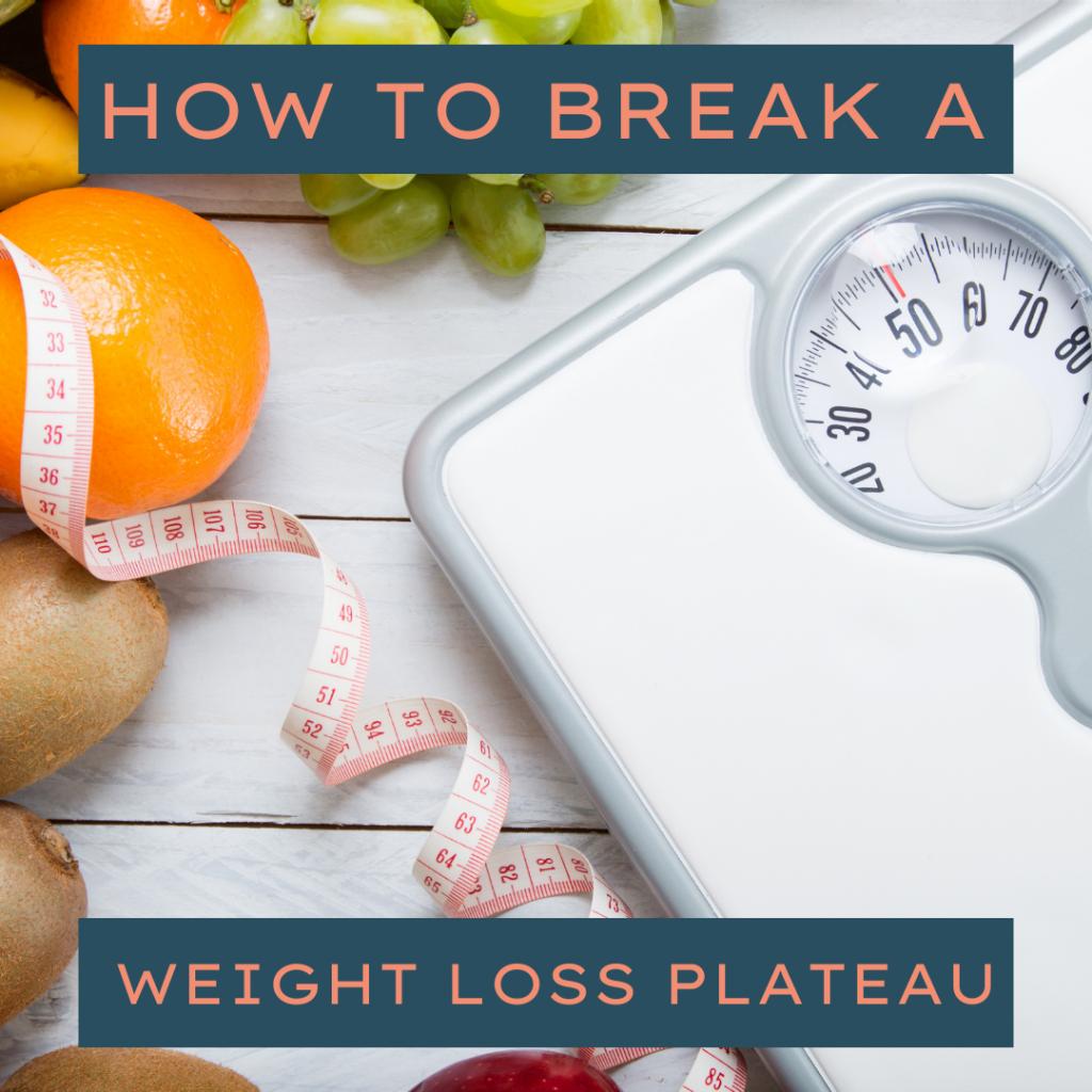 Weight Loss plateau