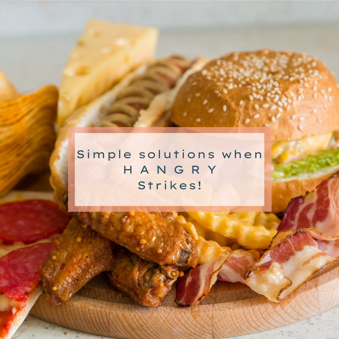 Simple Solutions When Hangry Strikes